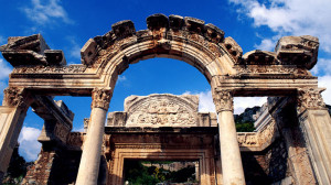 Hadrianus Temple, Ephesus Turkey