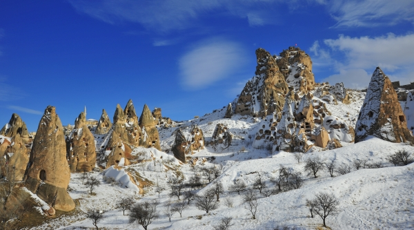 Winter at Cappadocia