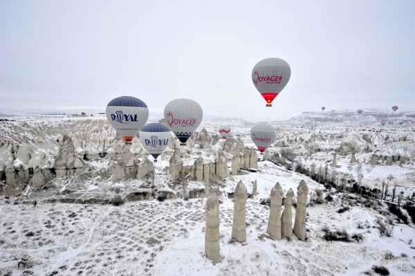 Winter Cappadocia